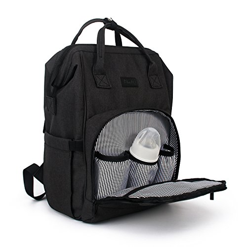 Mini Me Diaper Bag Backpack For Baby - Multi-Functional Mate