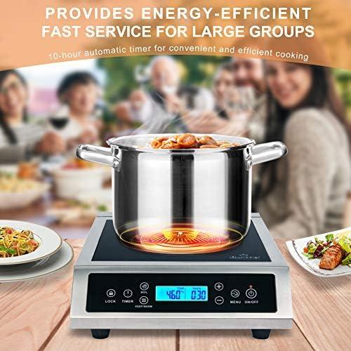 Amazon.com: Duxtop 1800 vatios encimera eléctrica de ...