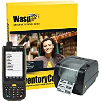 Wasp 633808391362 Inventory Control RF Enterprise Software with HC1 Numeric Keypad Mobile Computer and WPL305 Barcode Printer