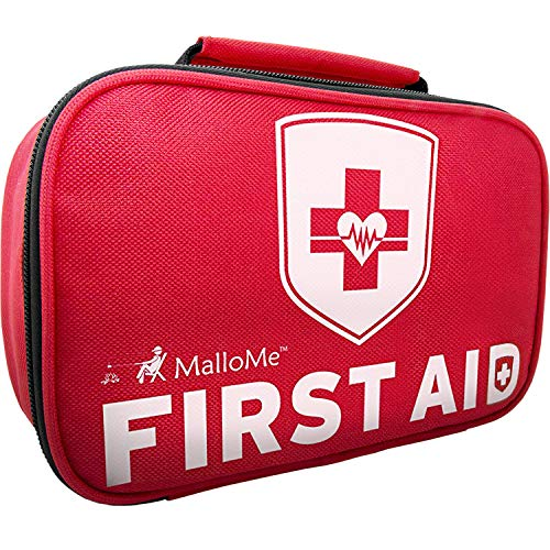 MalloMe 2-in-1 Large First Aid Kit (353-Piece) + Bonus 52-Piece Small Mini Emergency Kit: Compact Portable Preparedness at Home, Workplace, Car, Outdoors, Camping, Hiking & Survival