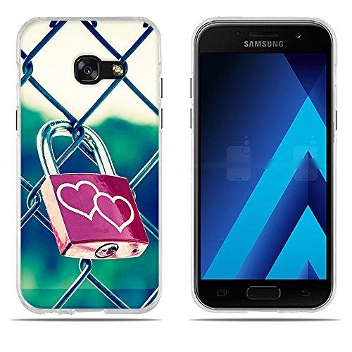 Ultra 2017 Color Fubaoda Silicone Samsung A3 Portable rose Pour 7 1 Téléphone Tpu Coque Haute Qualité Jardin 4 Galaxy Slim A3017 HYqwU4YC