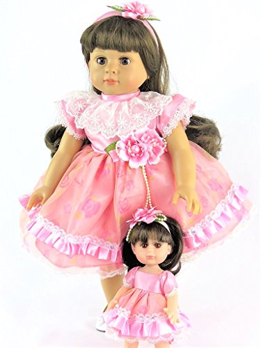 """Pink Me and My Doll Dress 