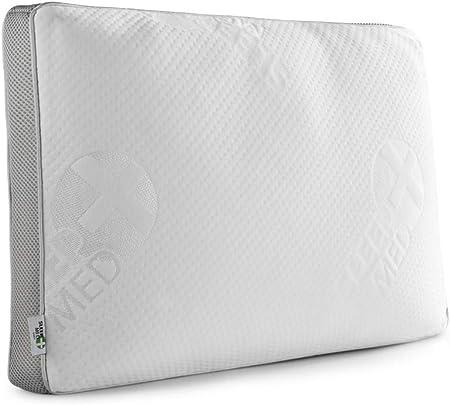 SLEEPMED Neck Pillow Memory Foam with