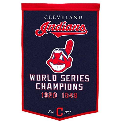 MLB Cleveland Indians Dynasty Banner Cleveland Indians Mlb Applique
