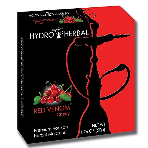 Hydro Herbal 50g Cherry Hookah Shisha Tobacco Free (Cherry Hookah)