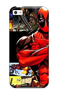 High Quality FJFvteD7803VHyyu Deadpool Tpu Case For Iphone 5c