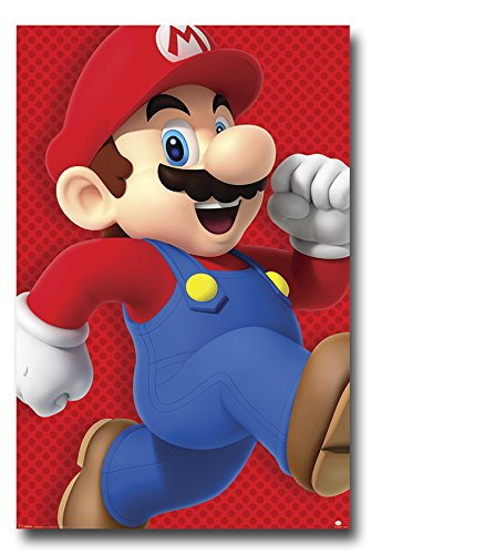 nintendo super mario run poster