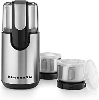 KitchenAid BCG211OB Blade Coffee and Spice Grinder Combo Pack