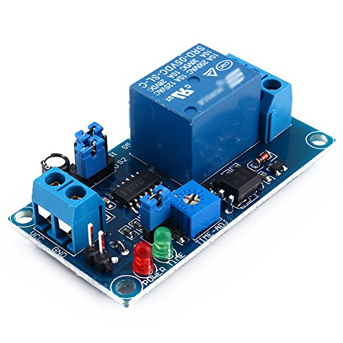 5V DC Delay Relay Delay with Timer Turn on/Delay Turn off Switch Module (5V)