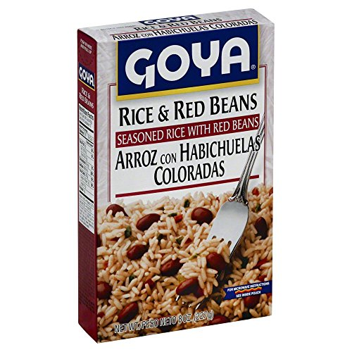Goya Rice and Red Beans 8.0 OZ(Pack of 12) by Goya