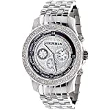 Luxurman Mens Diamond Watch 0.25ct, Watch Central