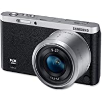 Samsung Mirrorless Camera, NX Mini, 20.5Mp, 9-27mm Lens, Black (EVNXF1ZZB2I) [Electronics]