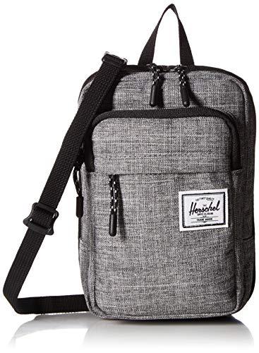(Herschel Form Large Cross Body Bag, Raven Crosshatch, One Size)