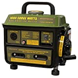 1000 Watt 2 Cycle Portable Generator