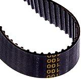 Jason Industrial 100XL100 Standard Timing Belts, Chloroprene, XL- L- H- XH- XXH, 10'' Long, 1'' Wide
