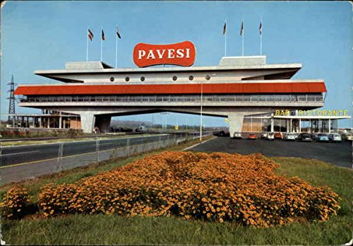 autostrada-milano-brescia-autogrill-pavesi-italy-original-vintage-postcard