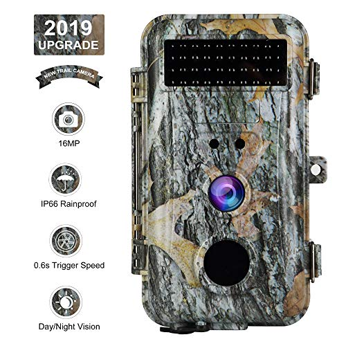 BlazeVideo 16MP HD Trail Hunting Wildlife Game Camera...