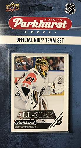 2019 Upper Deck Player - 2018 2019 Upper Deck PARKHURST NHL Hockey Western Division All Star Series 10 Card Set Featuring Connor McDavid, Patrick Kane, Anze Kopitar, Marc Andre Fleury and 6 Other Players