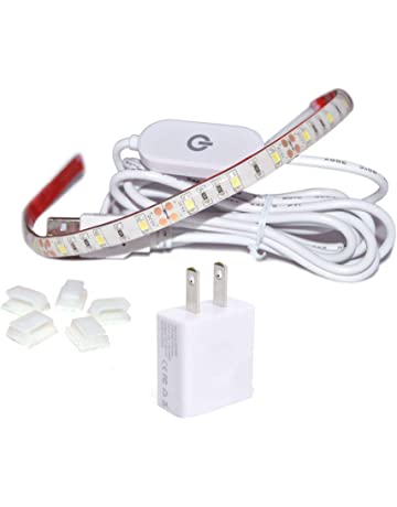 WENICE Sewing Machine Light,LED Lighting Strip kit Cold White 6500k with Touch dimmer and