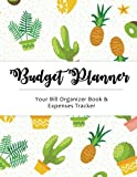 Budget Planner: Cute Cactus Large budget planner, (8.5x11 inches) : Expense tracker for 24 Months (Monthly Bill Tracker) (Volume 2)