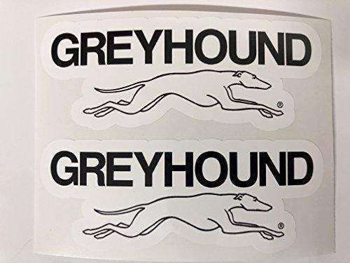 2 Greyhound Lines Decals by SBDdecals.com