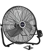 """Lasko 20"""" High Velocity QuickMount, Easily Converts from a Floor Wall Fan, 7 x 22 x 22 inches, Black 2264QM, Black Hv 20"""