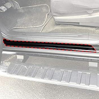 Amazon Com Red Hound Auto Door Edge Lip Guards Compatible