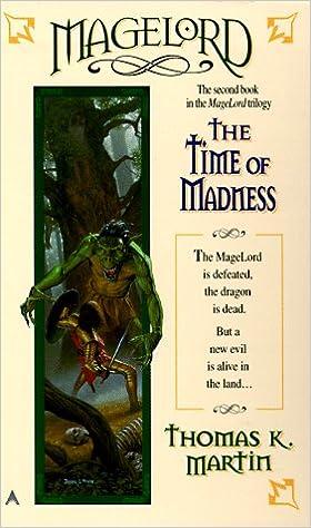 Znalezione obrazy dla zapytania Thomas K. Martin Magelord - The Time of Madness