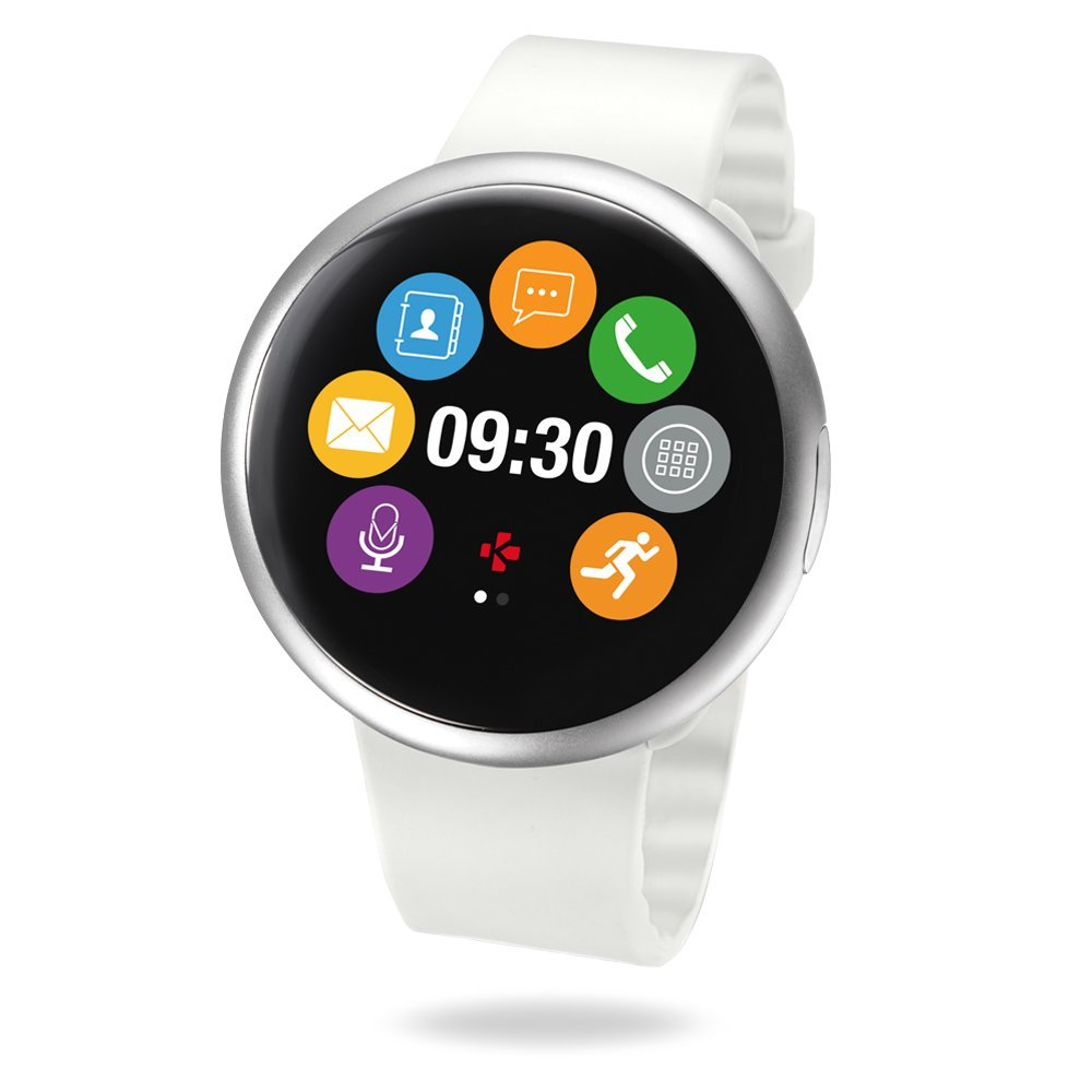 MyKronoz ZeRound2 Smartwatch Circular Color Touchscreen (Certified Refurbished)