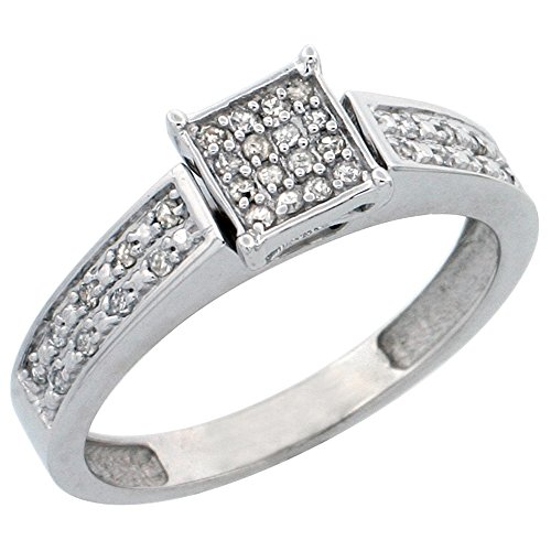 0.14 Ct Mens Diamond - 7