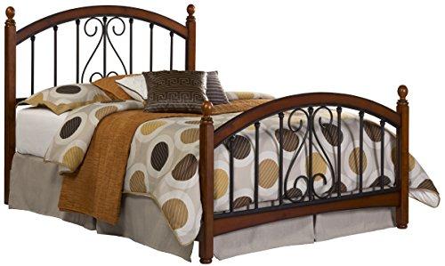 - Hillsdale Furniture 1258BKR Burton Way King Bed Set, Cherry