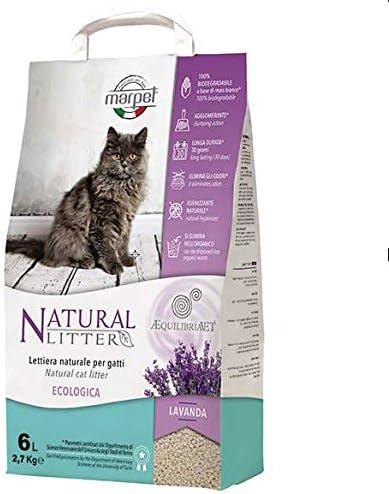 Marpet aequilibria Vet – Arenero Natural para gatos lavanda – 100 ...