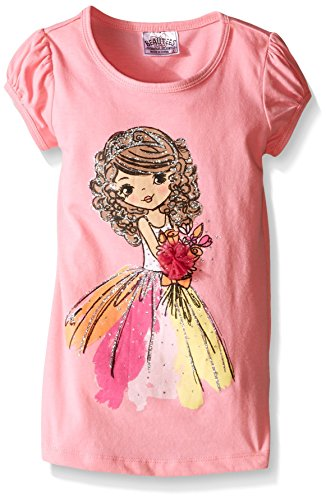 Little Girl Dog Tshirt - 7