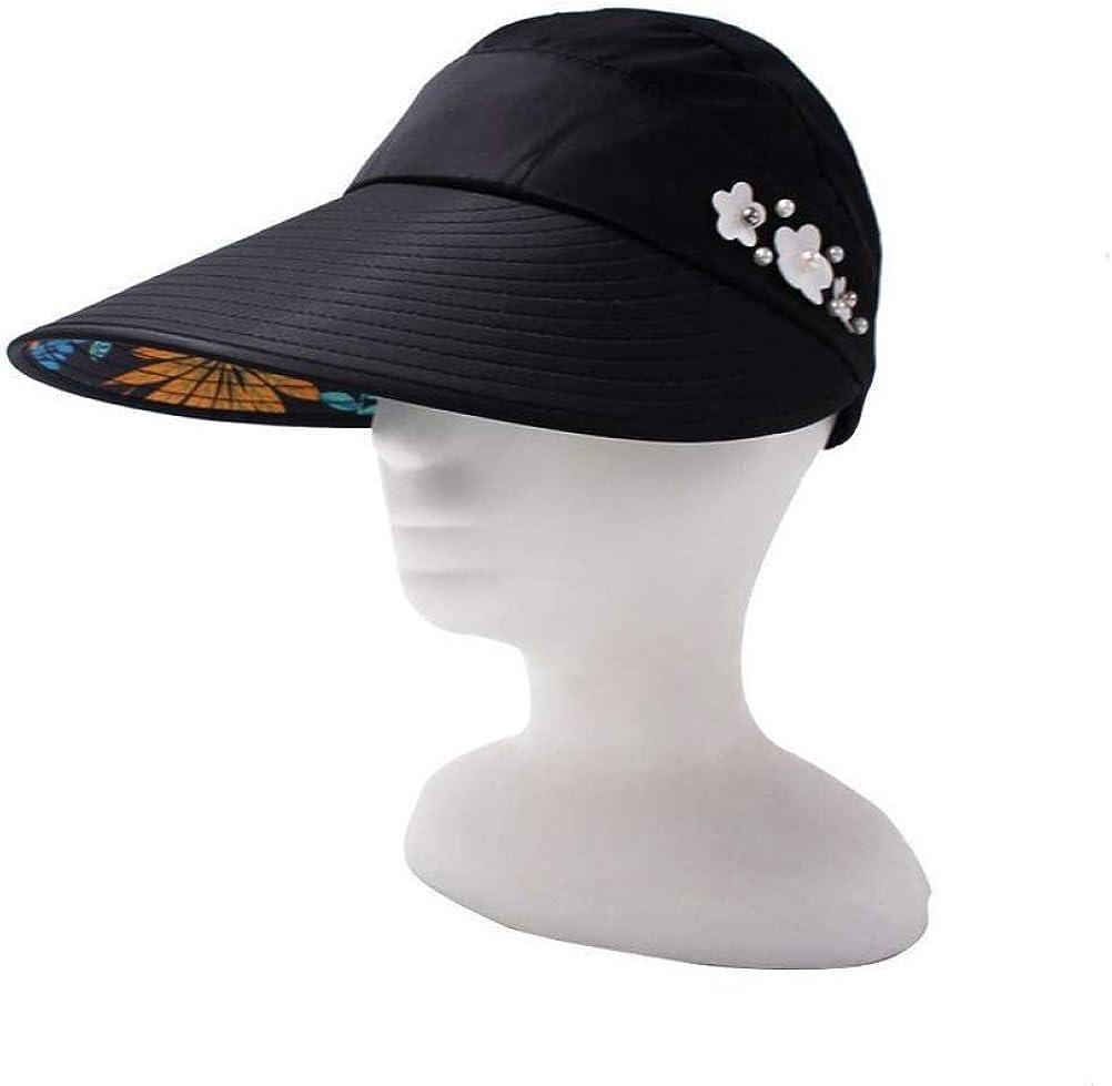 Summer Sun Hats Adjustable Wide Large Brim Floppy Summer Anti-Sun Uv Hat Foldable Sun Cap for Girls//Ladies.
