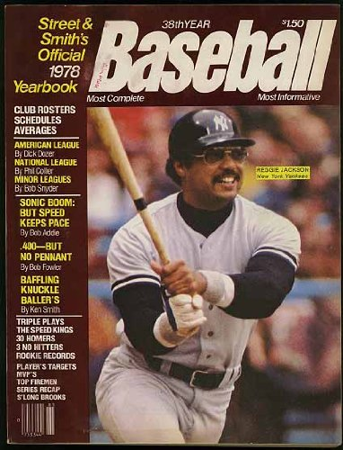 (Street and Smith's 1978 Official Baseball Yearbook (Reggie Jackson - New York Yankees cover) )