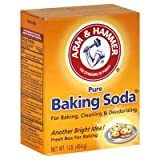 Arm & Hammer Baking Soda, Pure 16 Oz (Pack of 6)