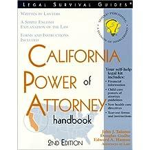 California Power of Attorney Handbook