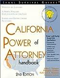 California Power of Attorney Handbook, John J. Talamo and Douglas Godbe, 1572481501