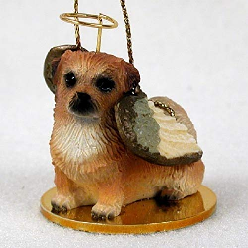 Conversation Concepts Tibetan Spaniel Pet Angel Ornament