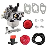 120-4418 Carburetor + Fuel Filter Line for TORO Power Clear 421 & 621 19-1996 120-4419 models 38451 38452 38453 38454 38458 38459 38567 38588 SnowThrower 621E 621R 621ZE CCR6053 CCR6053R Snow Blower