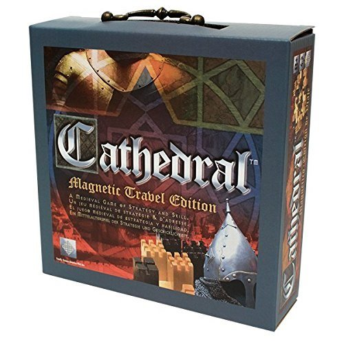 Family Games Cathedral Wood Portable Travel Strategy Board Game