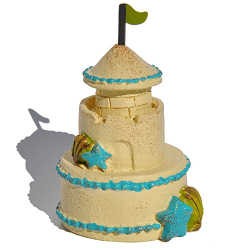 Adirondack Blue Table End (Miniature Fairy Garden Sandcastle)