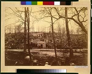 Photo: President Abraham Lincoln's tomb,burial,Oak Ridge,Springfield,Illinois,IL,1865
