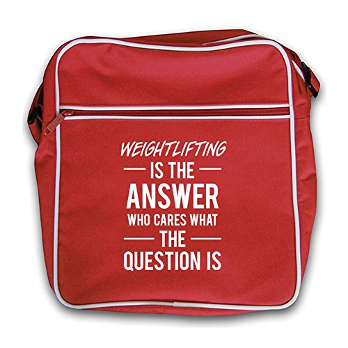 Weightlifting Flight Bag Is The Red Answer Retro rwZrPIq