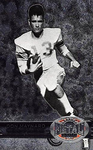 Don Maynard Football card (Texas El Paso) 2012 Skybox Metal Universe Retro #M-19 ()