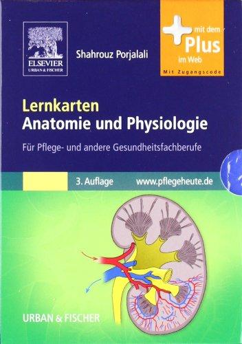 Lernkarten Anatomie und Physiologie: für Pflege- und andere Gesundheitsfachberufe - mit www.pflegeheute.de-Zugang