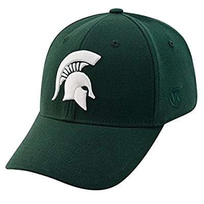 Top of the World NCAA-Big Ten Conference-Premium Collection-OneFit-Memory Fit- Size: M/L-Michigan State Spartans by Top of the World