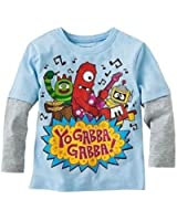 Yo Gabba Gabba Long Sleeve Shirt Tee Toddler Boy 4T