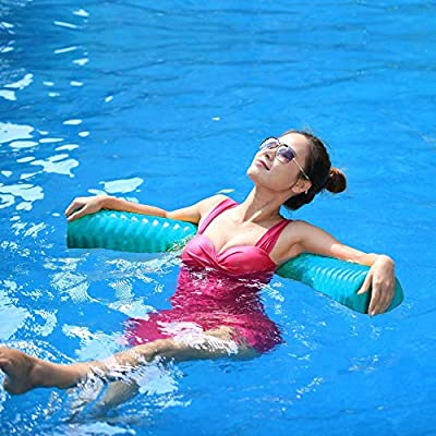 California Sun Deluxe Unsinkable Ultra Soft Foam Cushion Pool Noodle - Teal: Toys & Games