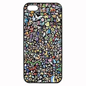 Pokemon pattern Image 4 Case Cover Hard Plastic Case tive 4s / for ipod touch 4protec
